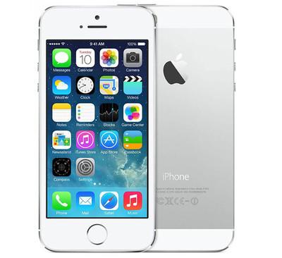 Apple iPhone 5S 16GB Silver (Sidabrinis)