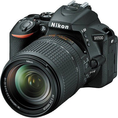 Nikon D5500 Black (Juodas)