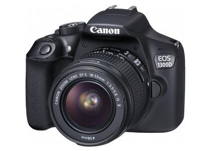 Canon EOS 1300D Black (Juodas)