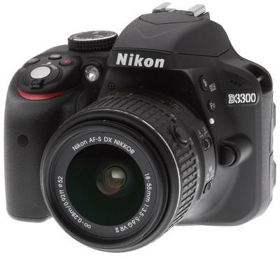 Nikon D3300 Black (Juodas)
