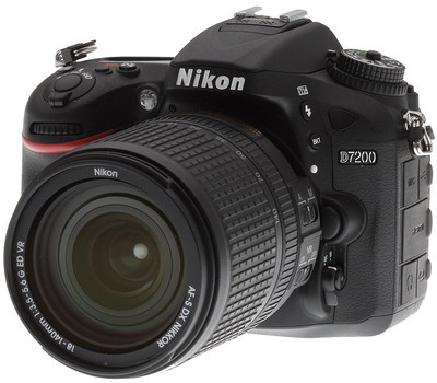 Nikon D7200 Black (Juodas)