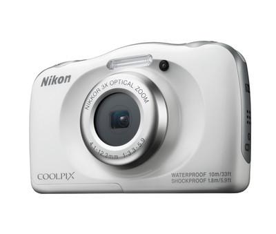 Nikon COOLPIX W100 White (Baltas)