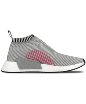Adidas Originals Nmd Cs2 Primeknit Pilka Balta Juoda Rozinė Kaina