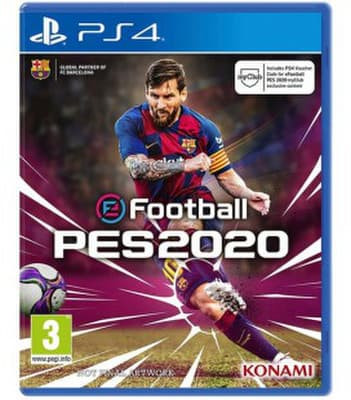 New Games 2020 Ps4.Pro Evolution Soccer 2020 Ps4 Kaina Nuo 44 99 Kainos Lt