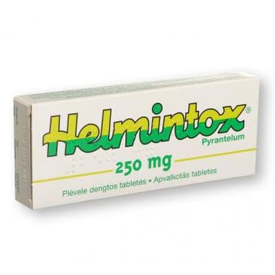 helmintox kaina