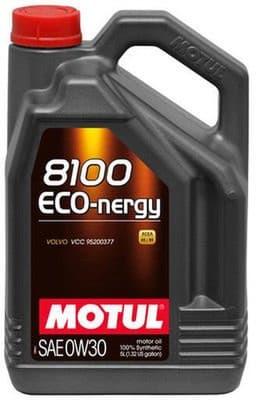 Motul 8100 Eco-Nergy 0W30 5l kaina nuo 42.88 € | Kainos.lt