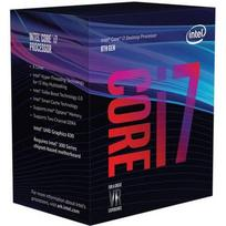 Intel Core i7-8700K, Hexa Core, 3.70GHz, 12MB, LGA1151, 14nm, BOX (be aušintuvo)