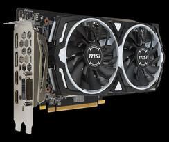 MSI Radeon RX 580 ARMOR 8G OC, 8GB, DL-DVI-D/HDMI*2/DP*2/ATX