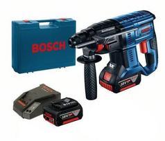 Perforatorius Bosch GBH 18V-20; 1,7 J; SDS-plus 18 V; 2x5,0 Ah akum.
