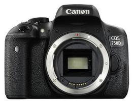 Canon EOS 750D Body Black (Juodas)