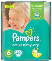 Pampers Active Baby-Dry S6 42