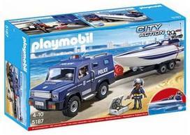 Playmobil, Policijos sunkvežimis su valtimi