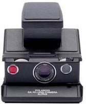 POLAROID Originals SX-70 Black (Juoda)