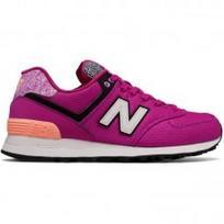 New Balance WMNS 574 (ryškiai violetinė/balta/juoda/marga)