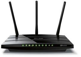 TP-Link Archer C1200 Dual band Wireless 802.11ac Gigabit router 4xLAN, 1xUSB