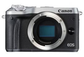 Canon EOS M6 Body sidabrinis