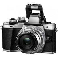 Olympus OM-D E-M10 Mark II + 14-42mm EZ (sidabrinis)