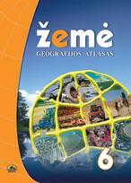 Žemė 6. Geografijos atlasas 6 klasei