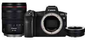 Canon EOS R RF 24-105mm f/4L IS USM with Adapteris EF - EOS R
