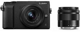Panasonic Lumix DMC-GX80 + 12-32mm + 35-100mm Kit (Juodas)