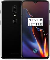 OnePlus 6T Dual 128GB 6GB RAM Mirror Black (Juodas)