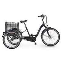 "El. dviratis PROPHETE Dreirad 26"", triratis, juodas"