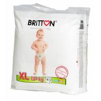 BRITTON sauskelnės-kelnaitės XL 13+kg 18 vnt.