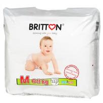 BRITTON sauskelnės-kelnaitės M 6-11kg 22 vnt.
