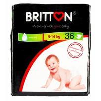 BRITTON sauskelnės L 9-14kg 36 vnt.