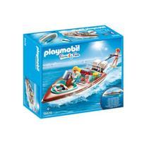 PLAYMOBIL FAMILY FUN Motorinė valtis, 9428