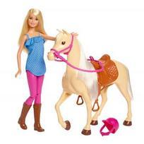 BARBIE lėlė ir jos žirgas, FXH13