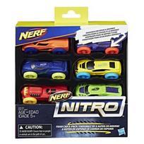 NERF mašinos 6vnt Nitro foam, C3171EU5