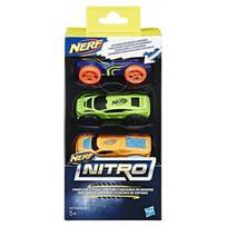 NERF 3 vnt mašinos Nitro foam, C0774EU4