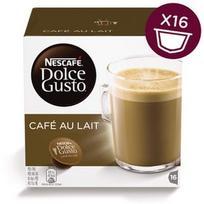 Nescafe Dolce Gusto Cafe Au Lait, 16 vnt, 160 g