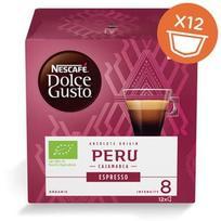 Nescafe Dolce Gusto Espresso Peru, 12 vnt., 84 g