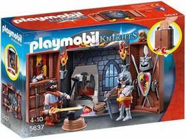 PLAYMOBIL KNIGHTS Knights' Armory žaidimų dėžė, 5637