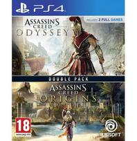 Assassin's Creed Origins + Odyssey Double Pack PS4