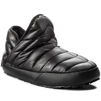 Naminės šlepetės THE NORTH FACE - Thermoball Traction Bootie T933IHYWY-050 Shiny Tnf Black/Beluga Grey