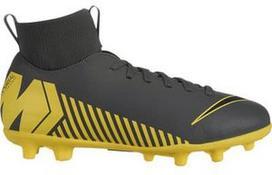 Nike Mercurial Superfly 6 Club MG JR AH7339 070 Gray/Yellow 38