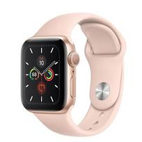 Apple Watch Series 5 GPS 40mm Gold Aluminum Case with Sport Band Pink Sand