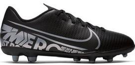 Nike Mercurial Vapor 13 Club FG / MG JR AT8161 001 Black 38
