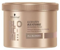 Schwarzkopf Blond Me Keratin Bond Strengthening Mask 500ml