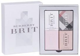 Burberry Brit Rhythm 5ml EDT + 5ml Brit EDP + 5ml Brit Sheer EDT + 5ml Brit Rhythm Floral EDT