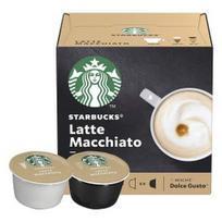 Kavos kapsulės STARBUCKS Latte Macchiato, Dolce Gusto aparatams, 12 kaps.
