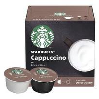 Kavos kapsulės STARBUCKS Cappuccino, Dolce Gusto aparatams, 12 kaps.