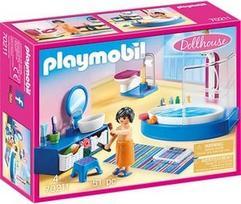 Playmobil Dollhouse Bathroom With Tub 70211