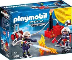 Playmobil City Action Firefighters Wit Water Pump 9468