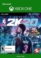NBA 2K20 Legend Edition XBOX ONE raktas