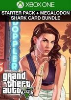 Grand Theft Auto V: Premium Online Edition & Megalodon Shark Card Bundle XBOX ONE raktas