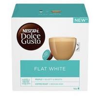 Nescafe Dolce Gusto Flat White, 16 vnt, 187 g